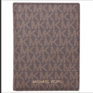 Michael Kors Bedford Travel Passport Wallet